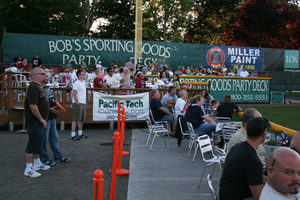 Party Suites and Bob's Sporting Goods Party Deck